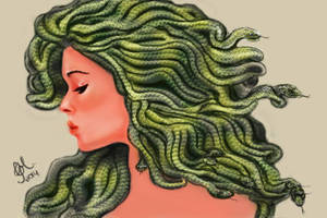Medusa by CellyMonteiro
