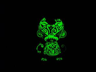 Maori demon GID front by Turuel