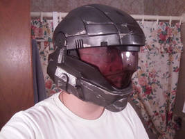 Halo ODST Helmet Cosplay by the-pooper