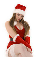 Sexy Santa Sitting by AndrewHoughton