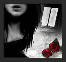 LaraFairie Red Rose Montage by AndrewHoughton