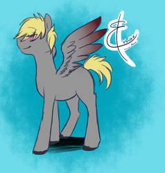 Ethan Pony (Round 2) by ZipTheArtsyFox