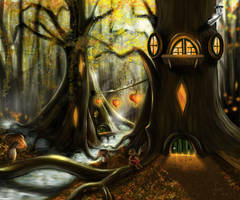 The Heart of Gnarlwood by gusti-boucher