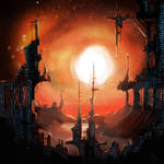 Mars Colony by gusti-boucher