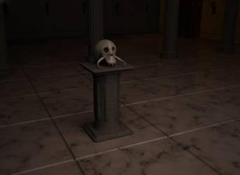 Alien skull by invidos