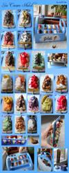 Miniature Ice Cream Stand by geekySquirrel