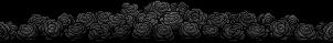 Black Roses Divider by ThisPoisonedOne
