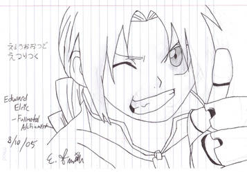 Edward Elric- by elric-fans