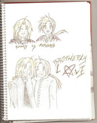 Brotherly love by elric-fans