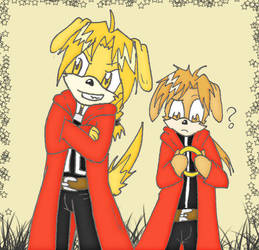 Ed Al sonic style by elric-fans