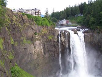 Salish Lodge-Snoqualmie Falls by Bspacewiz2