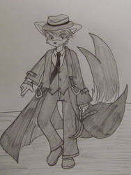 Ran - sketch by SpookyElk