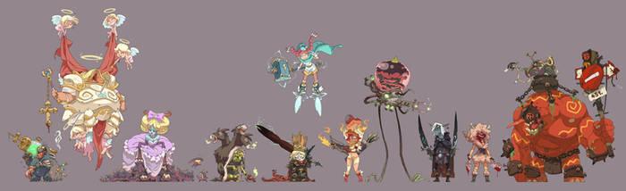 Line-up 1 by Saindoo