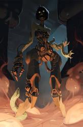Cyborg midwife by Saindoo