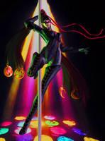 Dancing on a pole by missGangrel