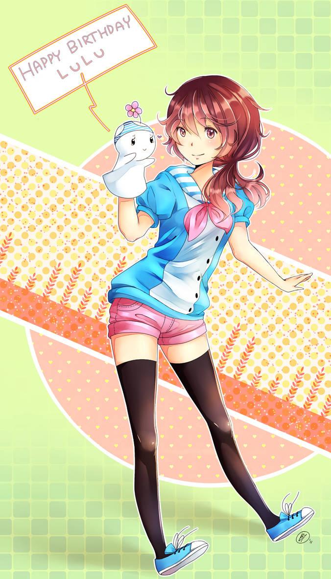 Happy Birthday Lulu by Yennineii