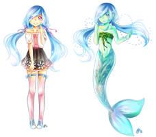 Commission - Mitsu by Yennineii