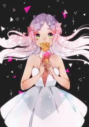Ice cream edited by Yennineii
