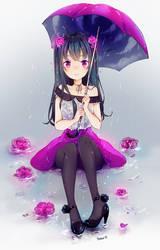 Umbrella Redraw by Yennineii