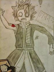Natsu erased by Shizaya-luv-artist