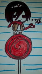 Mikasa candy queen by Shizaya-luv-artist