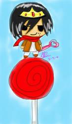 Mikasa candy queen digital by Shizaya-luv-artist