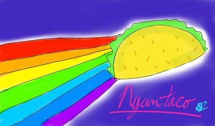 Nyan taco by Shizaya-luv-artist