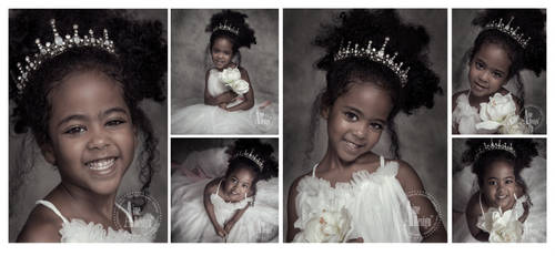 Beautiful little princess by ainedesign
