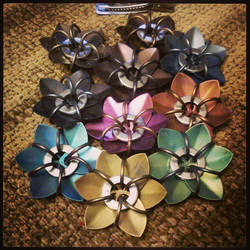 Titanium pile by kinyo-spoons
