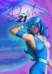 Dasha poster by Nikkifictivcorp