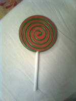 Cosplay Prop - Pre-Trickster Lollipop by Kamara666