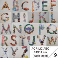 Disney Alphabet by alecalcano