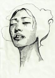 Chinese Girl by ZiaDindi