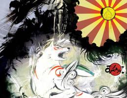 Okami - Between Light and Dark by BreakTheDay