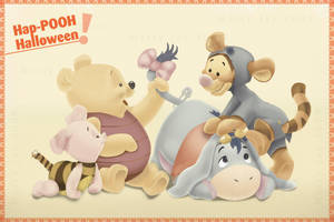 Pooh Halloween by BreakTheDay