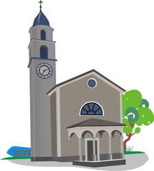 a old italian church by powercavy