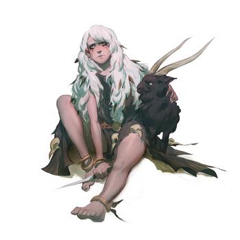 Lone Witch by MikeJordana