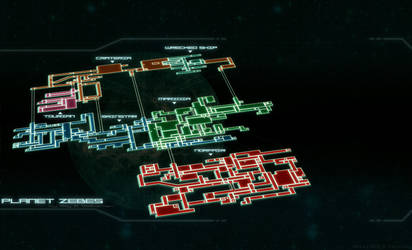 Super Metroid: Future Map by Billysan291