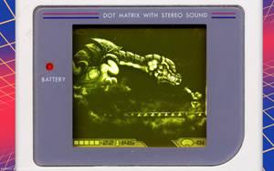 Metroid II Final Boss Gameboy by Billysan291