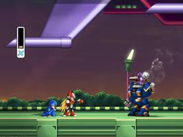 Mega Man X1 Zero Defense FULL by Billysan291