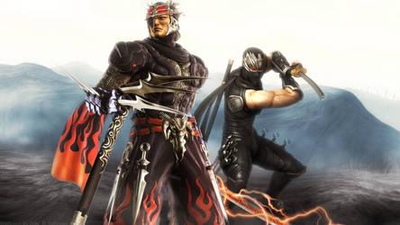 Ninja Gaiden Ode to Genshin by Billysan291