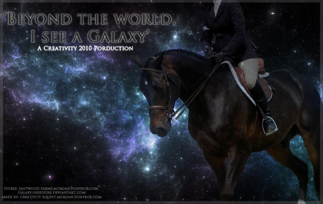 Beyond The World I See Galaxy By Creativty Is Equine On Deviantart
