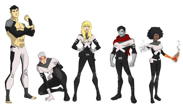 X-Men: Special Class by cspencey