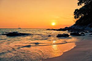 Surin Beach - Phuket by Stefan-Becker