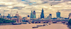 London Panorama by Stefan-Becker