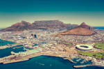 Cape Town, South Africa by Stefan-Becker