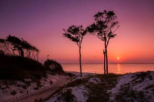 Western Beach, Baltic Sea by Stefan-Becker
