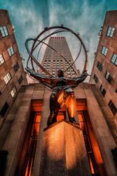 Rockefeller Center, NY by Stefan-Becker