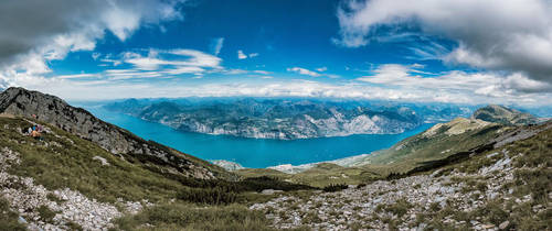 Lake Garda, Italy by Stefan-Becker