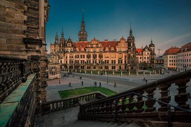 Residenzschloss Dresden by Stefan-Becker
